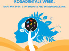 Rosadigitale week. Ideas for events on business and entrepreneurship.